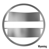 Wyoming State Monogram