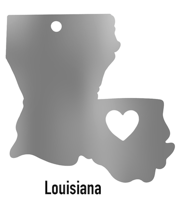Louisiana State Ornament