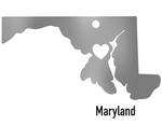 Maryland State Ornament