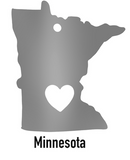 Minnesota State Ornament
