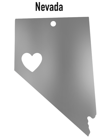Nevada State Ornament