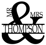 Mr. & Mrs. Monogram
