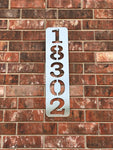 Vertical Address Sign