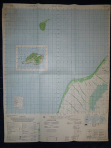 MAP - Vietnam War Original - 5928 i - DONG THAI - HON RAI ISLAND - HON TRE ISLAND - Gulf of Thailand - December 1967