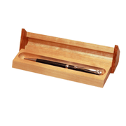 Bog Oak Slim Pen with presentation case