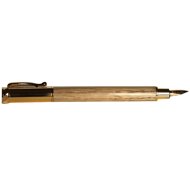 Magnetic Oak Fountain Pen with presentation case