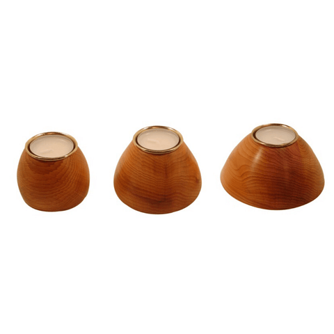 Ash Tea Lights Set of 3