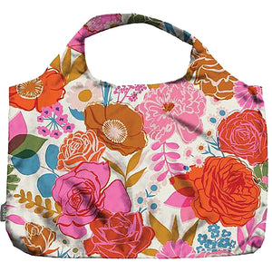 Pocket Shopper Ivory Bloom