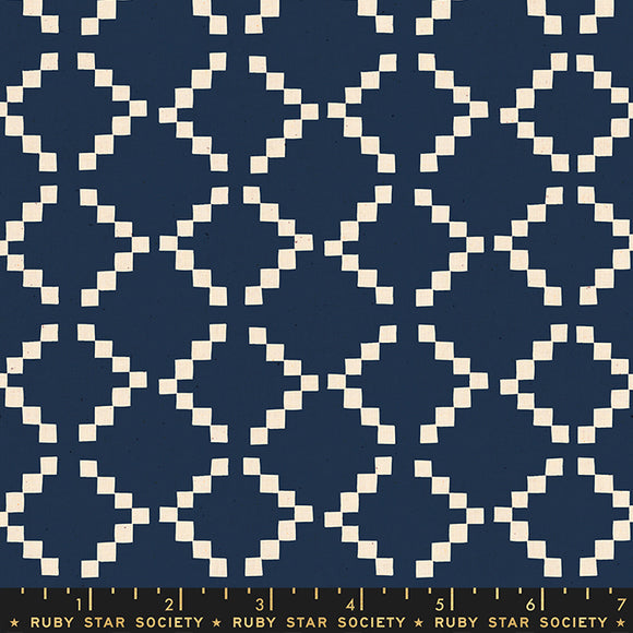 Golden Hour Tile Navy