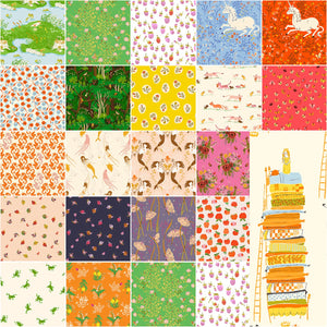 Fat Quarter Heather Ross 20th Anniversary, 21pcs/bundle