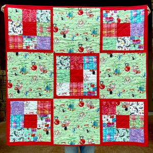 Purr-fect Christmas Quilt Kit