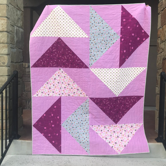 Lazy Goose Quilt Kit