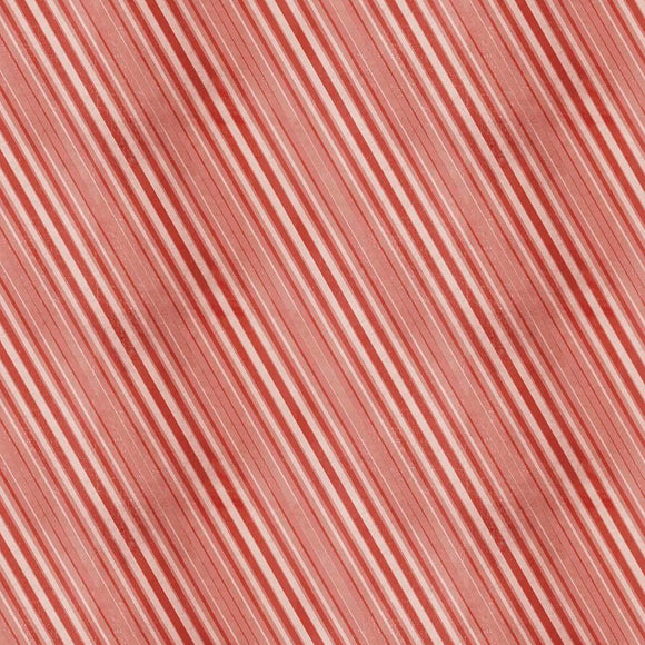 Yuletide - Peppermint Stripe - Red