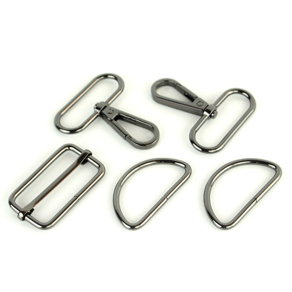 Basic Hardware Set 1-1/2in Gunmetal