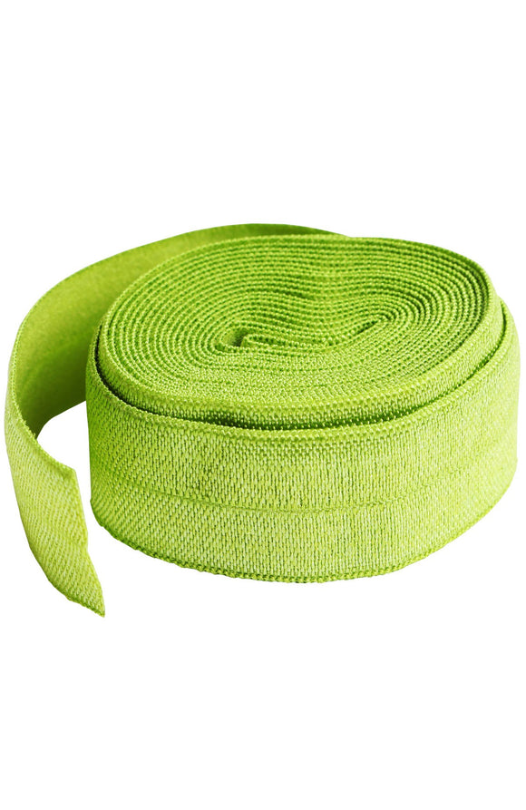 Fold-over Elastic 3/4in x 2yd Apple Green