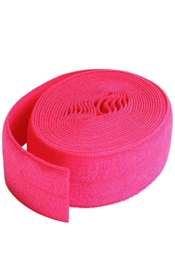 Fold-over Elastic 3/4in x 2yd Lipstick