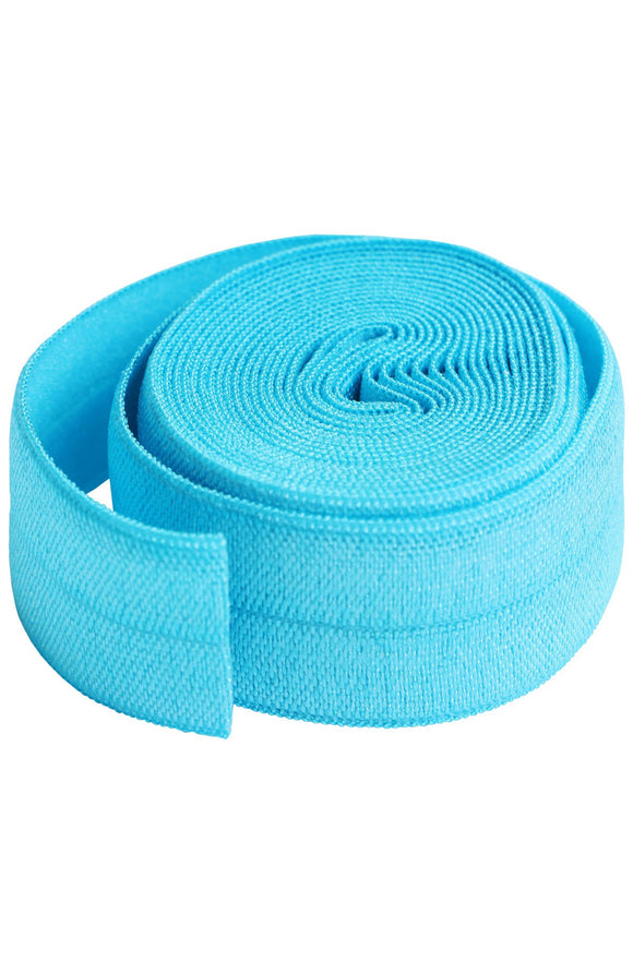 Fold-over Elastic 3/4in x 2yd Parrot Blue