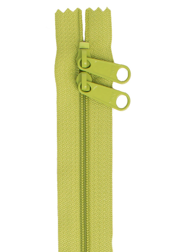 Handbag Zipper 30in Double-Slide - Green Apple