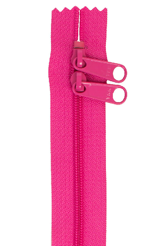 Handbag Zipper 40in Double-Slide - Raspberry