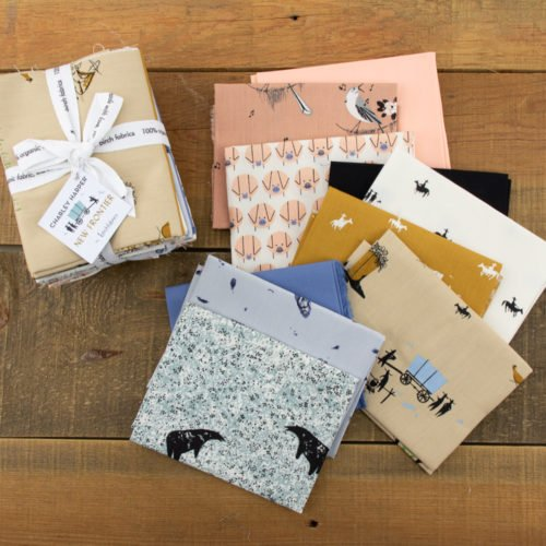 Fat Quarter - New Frontier - 10pcs/bundle