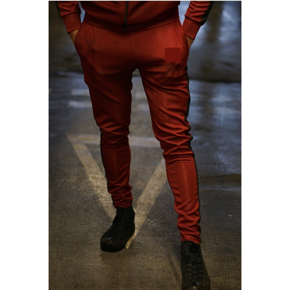 Super Nova Burgundy Tracksuit Bottoms