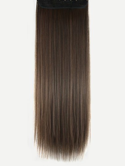 Straight Hair Extension 1pcs