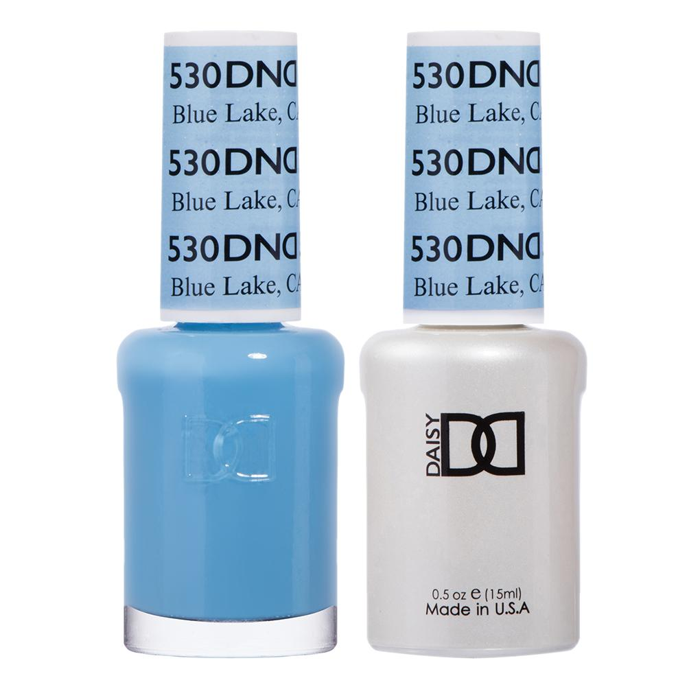 DND Gel Polish Blue Lake, CA #530