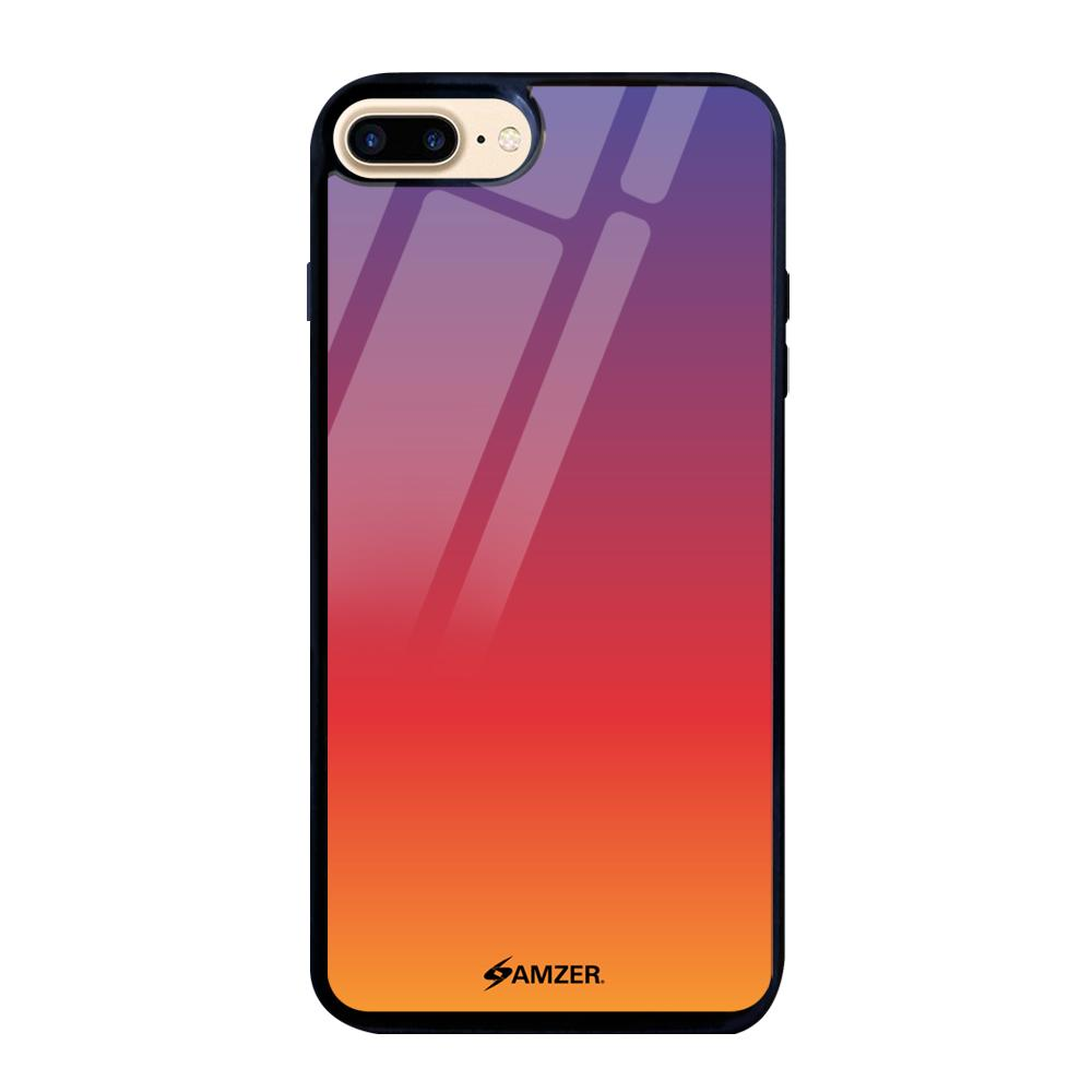 AMZER Glass Case with HD Design - Sunset