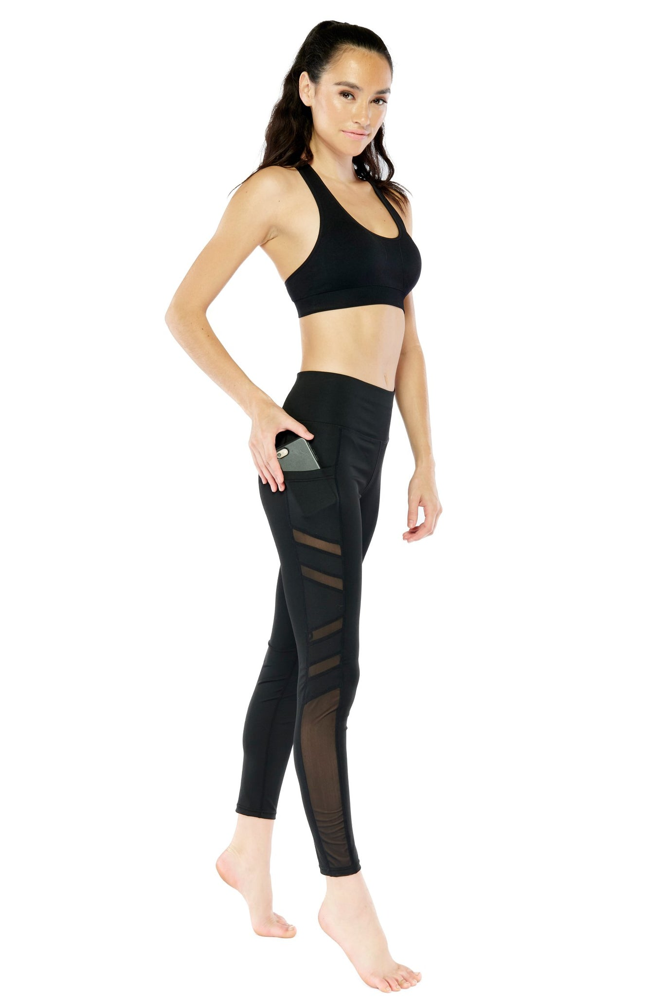 Pocket Mesh Legging