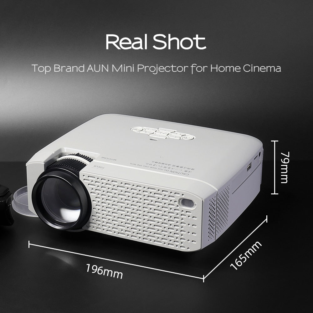LED Mini Projector D40W Video Beamer for Home