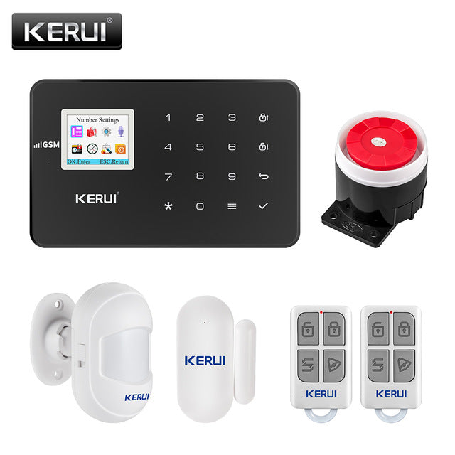 Security Alarm System For The House