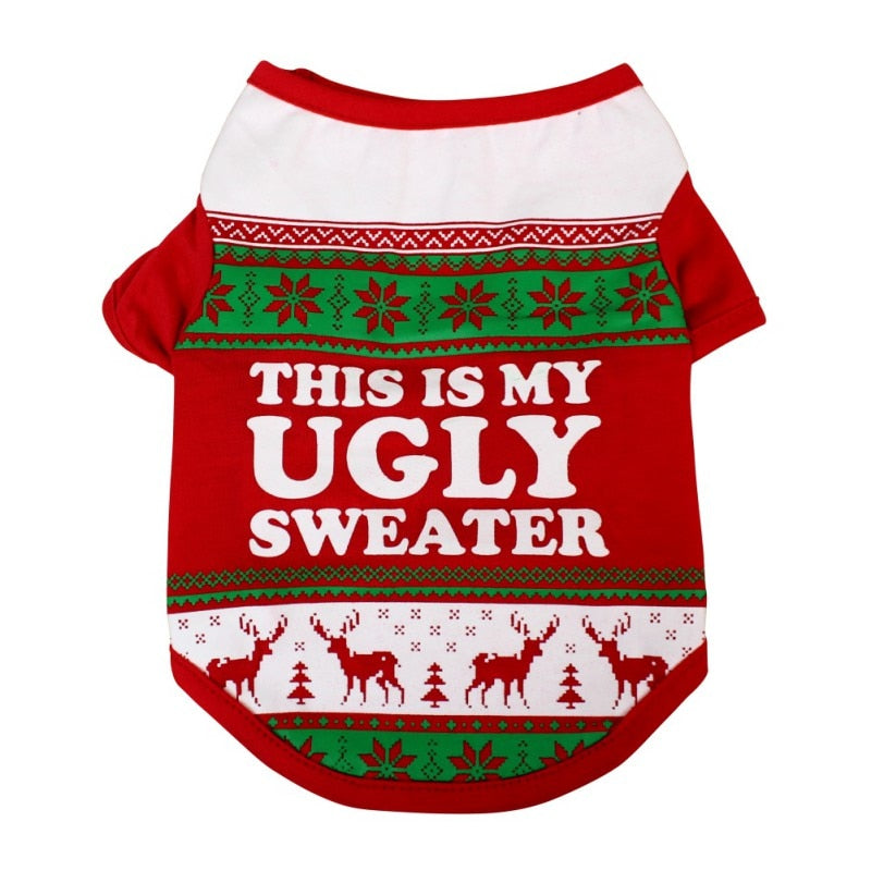 Dog Ugly Christmas Sweater