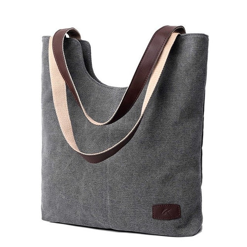 Women's Handbags Shoulder Canvas