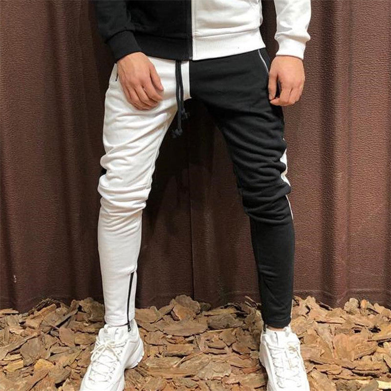 New fashion jogger zipper casual trousers