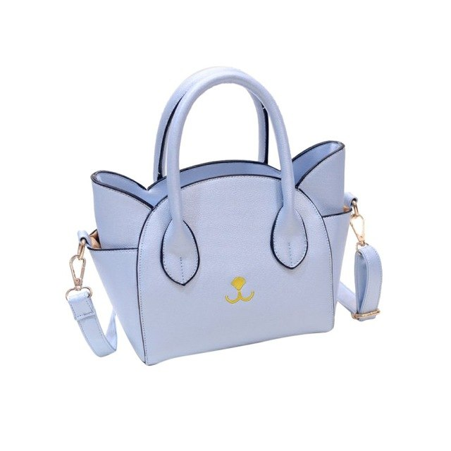 est Handbag Women lovely Cat Face print