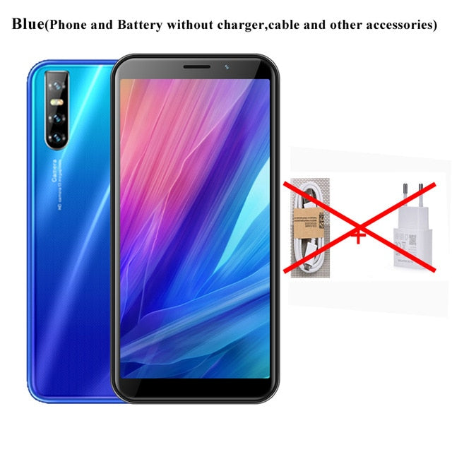Note 8 4GB RAM 64GB ROM Mobile Phone Note 8 Quad Core Face Unlock Cell Phones 6.0 inch HD Full Screen 13MP Rear Camera WCDMA/GSM