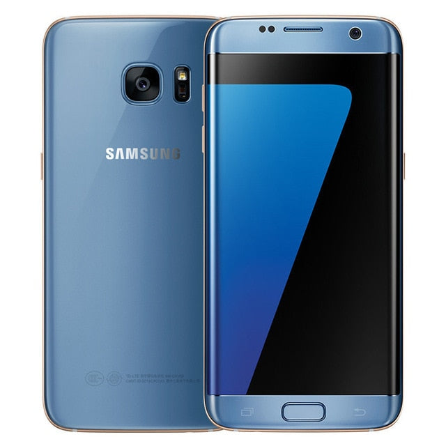 "Original Samsung Galaxy S7 Edge 4GB RAM 32GB ROM 5.5"" inch LTE Mobile Phone 12.0 MP Android Quad Core Unlocked Cell phone"