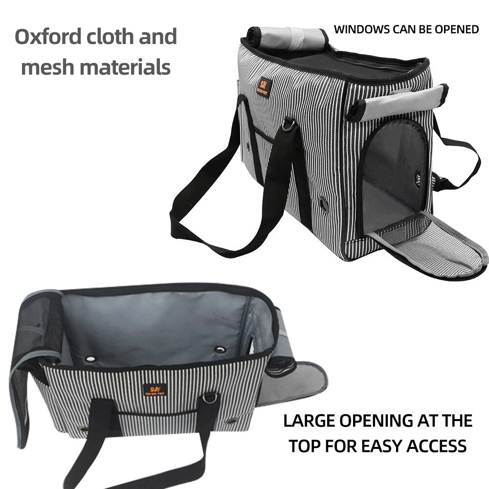 Portable Pet Carrier Car Carrier Oxford Cloth Dog