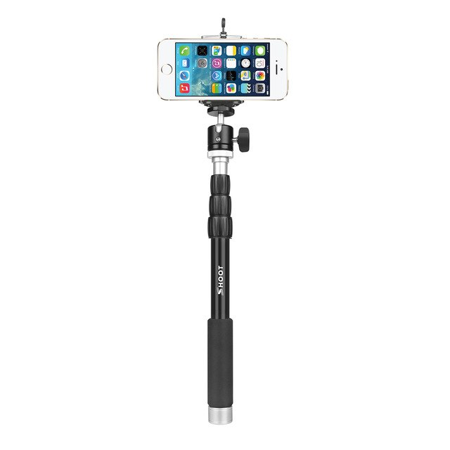 Portable Aluminum Alloy Monopod For GoPro