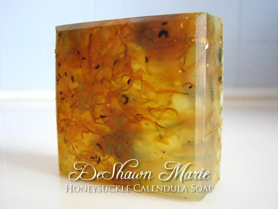 Honeysuckle Calendula Soap