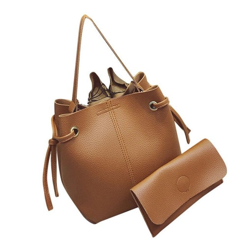 top barnd Women Messenger Bags Leather Handbag