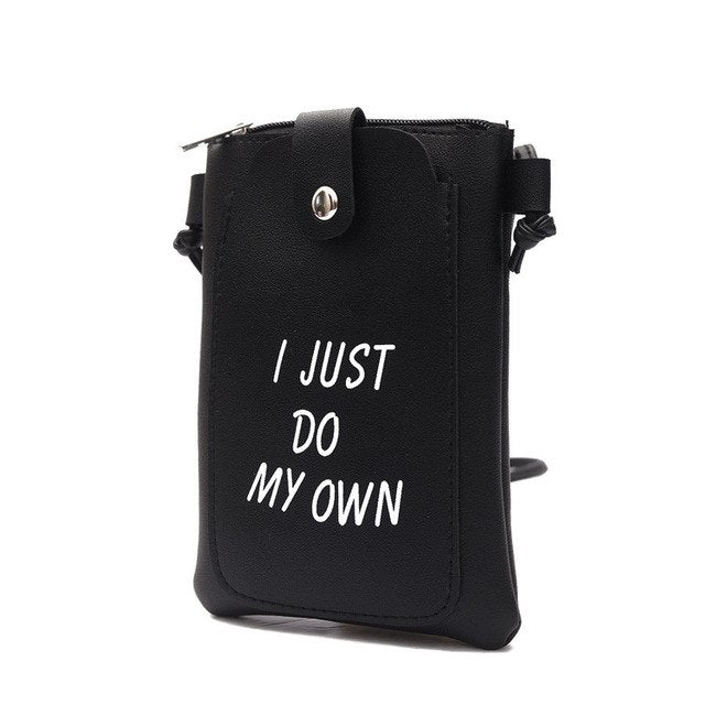 women messenger bags Cute lady girl Letter Mini