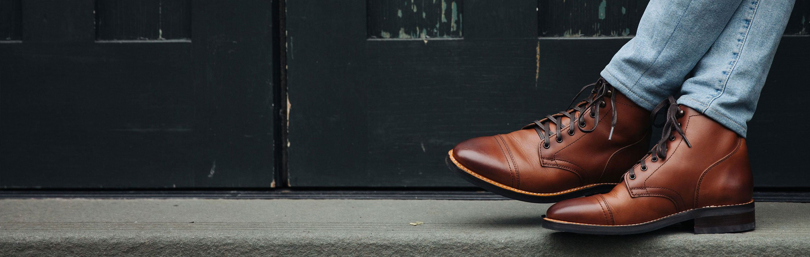 Men's Boots | The Cap Toe