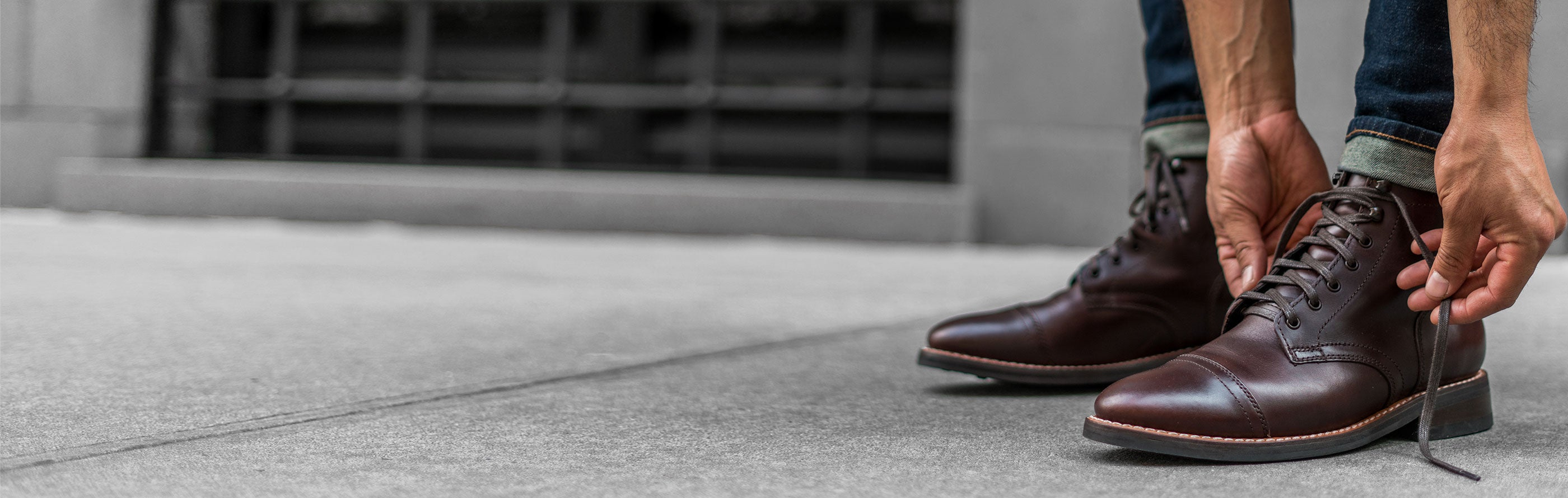 Men's Lace-Up Boots - Thursday Boot Company