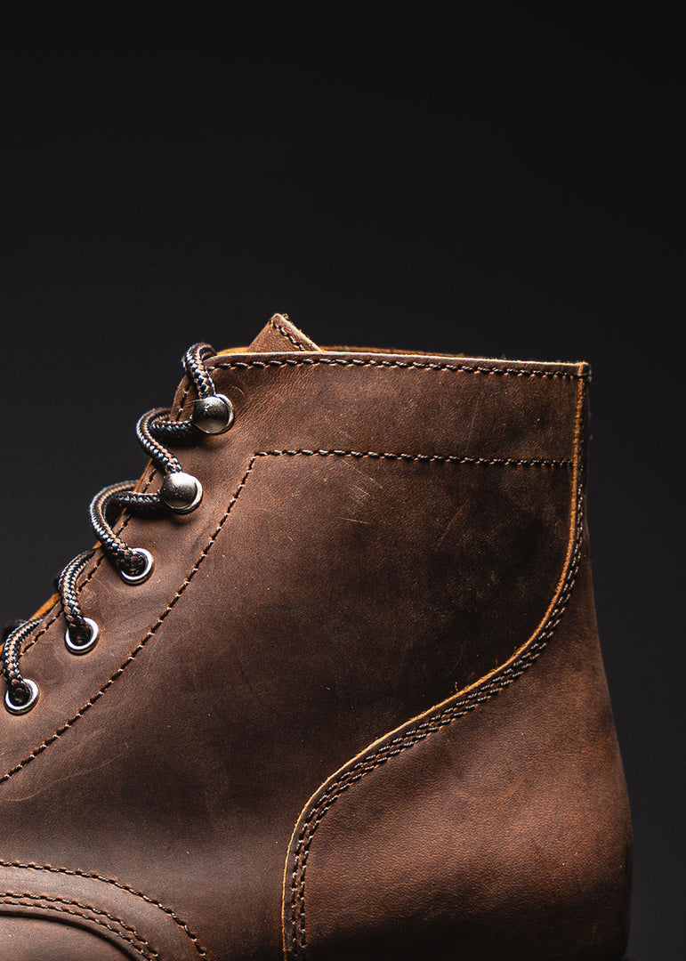 Handcrafted With Rugged & Resilient Leather