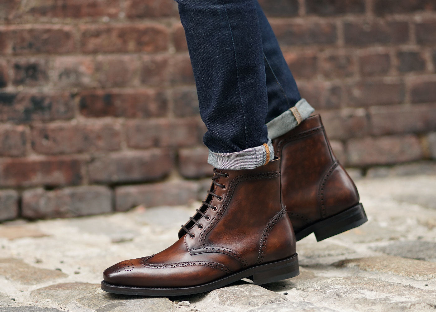 Best Men's Fashion Boot: Thursday Boot Company Color #77 Wingtip