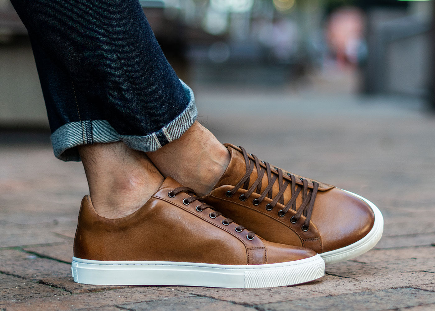 Toffee Low Top