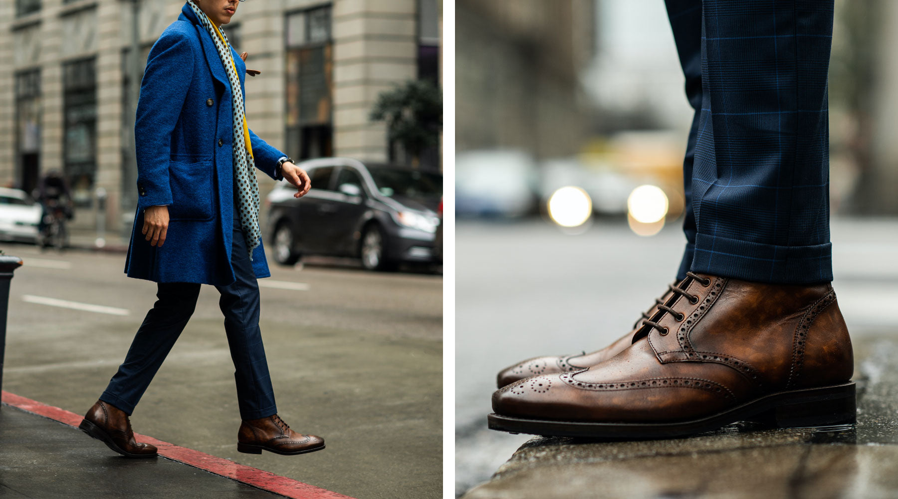 The Best Men's Dress Boots: The Wingtip