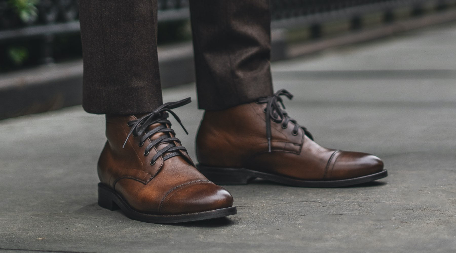 The Best Men's Dress Boots: The Cadet Lace-Up