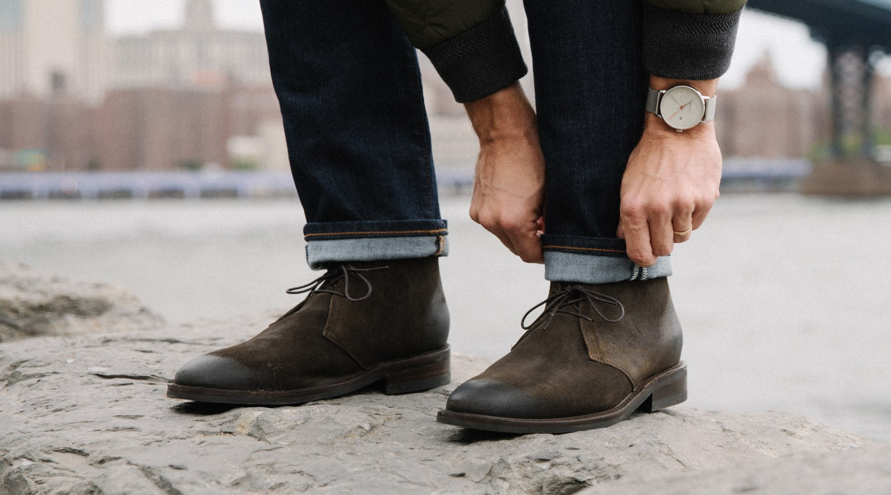How to Wear Chukka Boots for Men